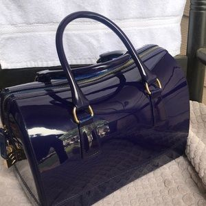 Large Furla clear bag, two handles